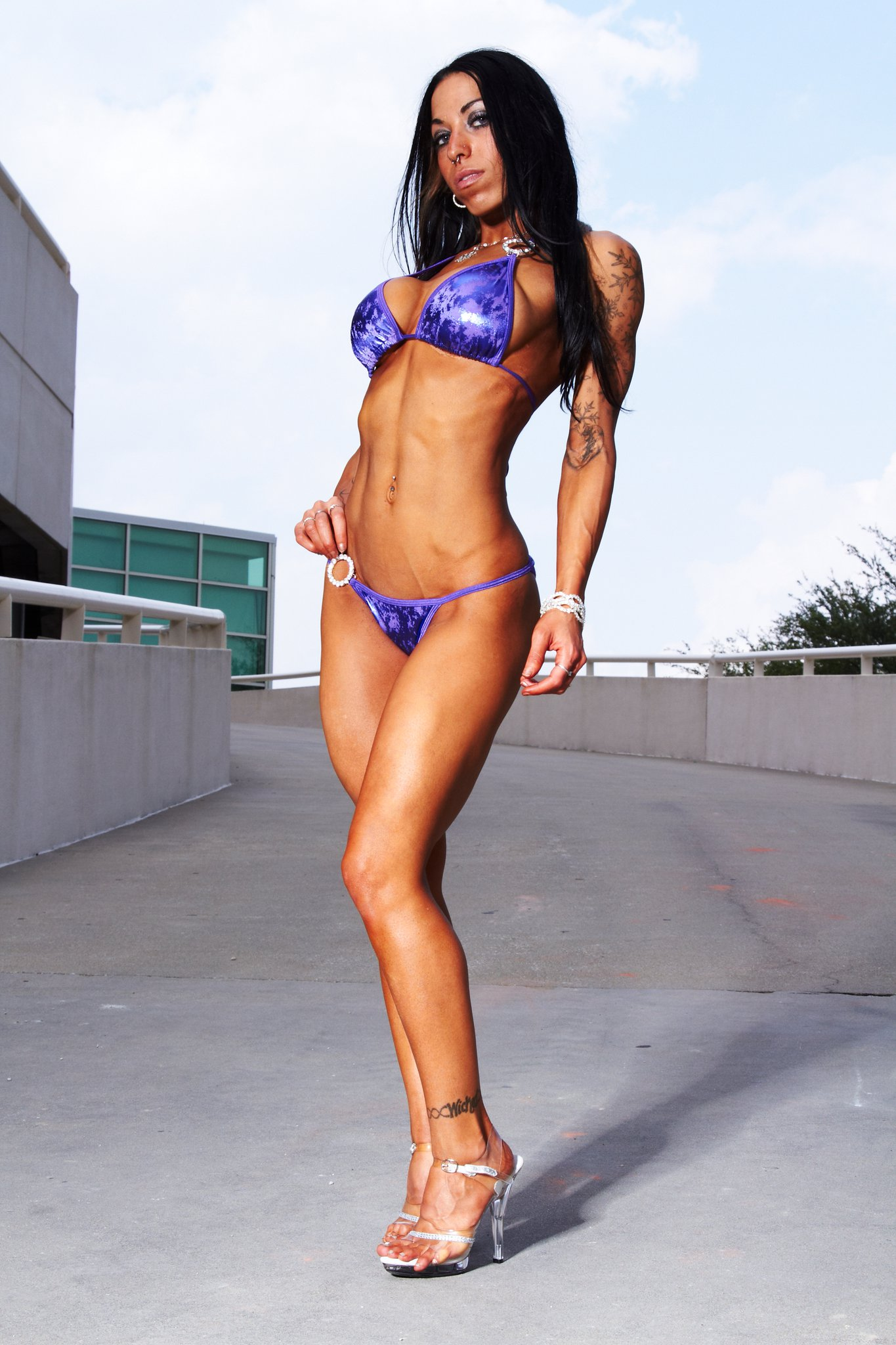 NPC Bikini Athlete Stephanie Wicked Talks With RateMyArms ...